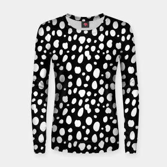 Thumbnail image of African Native Tribe - Pattern 10 - negative Women sweater, Live Heroes