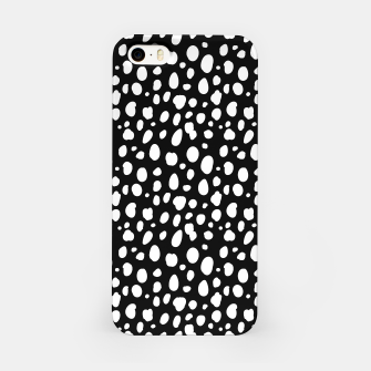 Thumbnail image of African Native Tribe - Pattern 10 - negative iPhone Case, Live Heroes