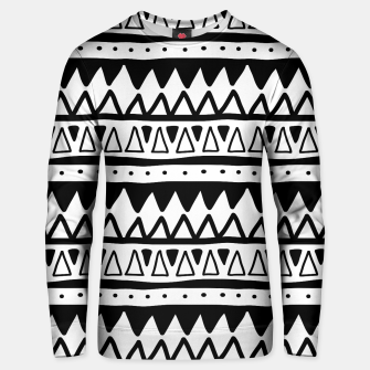 Thumbnail image of African Native Tribe - Pattern 11 - positive Unisex sweater, Live Heroes