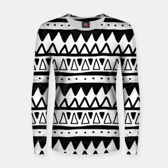 Thumbnail image of African Native Tribe - Pattern 11 - positive Women sweater, Live Heroes
