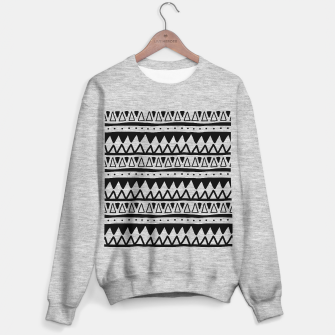 Thumbnail image of African Native Tribe - Pattern 11 - positive Sweater regular, Live Heroes