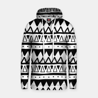 Thumbnail image of African Native Tribe - Pattern 11 - positive Hoodie, Live Heroes