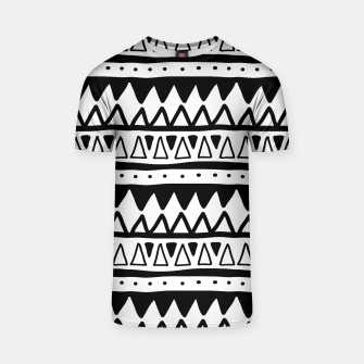 Thumbnail image of African Native Tribe - Pattern 11 - positive T-shirt, Live Heroes