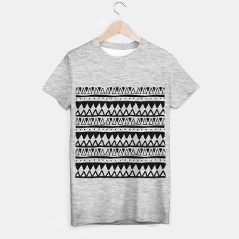 Thumbnail image of African Native Tribe - Pattern 11 - positive T-shirt regular, Live Heroes
