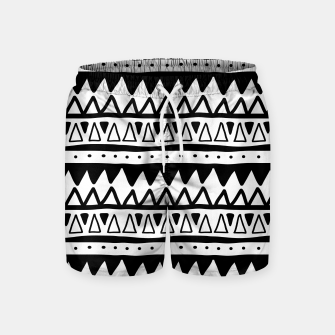 Thumbnail image of African Native Tribe - Pattern 11 - positive Swim Shorts, Live Heroes