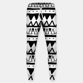 Thumbnail image of African Native Tribe - Pattern 11 - positive Sweatpants, Live Heroes