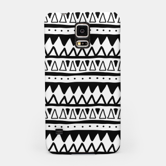 Thumbnail image of African Native Tribe - Pattern 11 - positive Samsung Case, Live Heroes