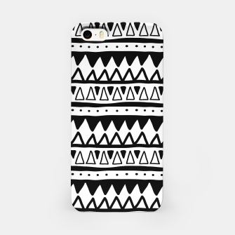 Thumbnail image of African Native Tribe - Pattern 11 - positive iPhone Case, Live Heroes