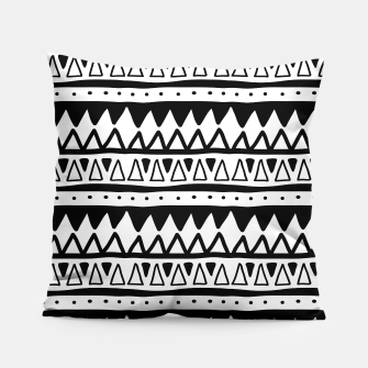 Thumbnail image of African Native Tribe - Pattern 11 - positive Pillow, Live Heroes