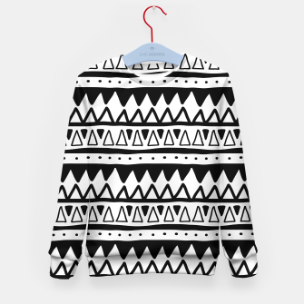 Thumbnail image of African Native Tribe - Pattern 11 - positive Kid's sweater, Live Heroes