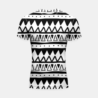 Thumbnail image of African Native Tribe - Pattern 11 - positive Shortsleeve rashguard, Live Heroes
