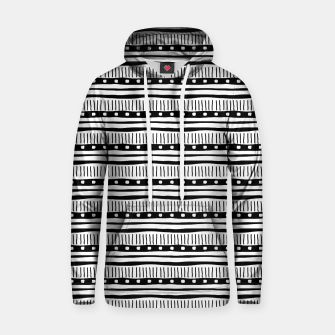 Thumbnail image of African Native Tribe - Pattern 12 - small Hoodie, Live Heroes