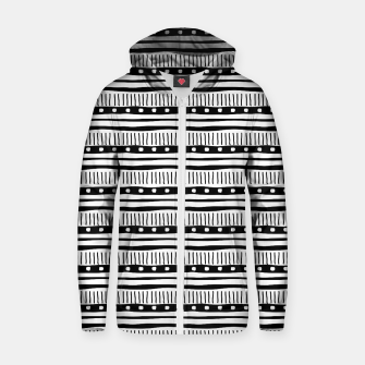 Thumbnail image of African Native Tribe - Pattern 12 - small Zip up hoodie, Live Heroes