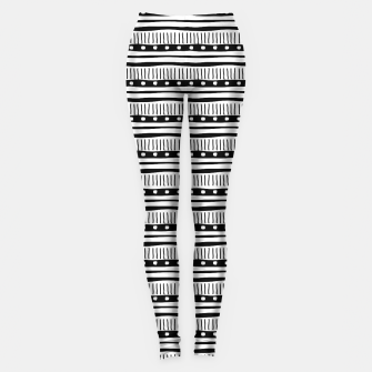 Thumbnail image of African Native Tribe - Pattern 12 - small Leggings, Live Heroes