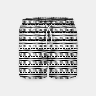 Thumbnail image of African Native Tribe - Pattern 12 - small Swim Shorts, Live Heroes