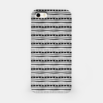 Thumbnail image of African Native Tribe - Pattern 12 - small iPhone Case, Live Heroes