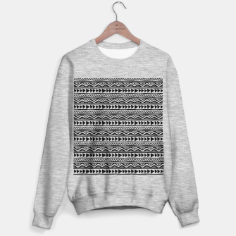 Thumbnail image of African Native Tribe - Pattern 13 - small Sweater regular, Live Heroes