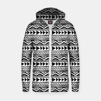 Thumbnail image of African Native Tribe - Pattern 13 - small Zip up hoodie, Live Heroes