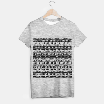 Thumbnail image of African Native Tribe - Pattern 13 - small T-shirt regular, Live Heroes