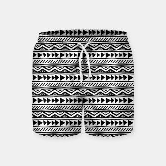 Thumbnail image of African Native Tribe - Pattern 13 - small Swim Shorts, Live Heroes