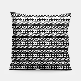 Thumbnail image of African Native Tribe - Pattern 13 - small Pillow, Live Heroes