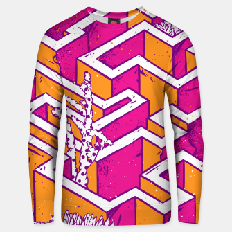 Thumbnail image of In a labyrinth Unisex sweater, Live Heroes
