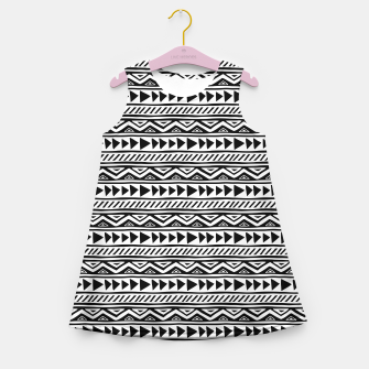 Thumbnail image of African Native Tribe - Pattern 13 - small Girl's summer dress, Live Heroes
