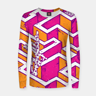 Thumbnail image of In a labyrinth Women sweater, Live Heroes