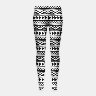 Thumbnail image of African Native Tribe - Pattern 13 - small Girl's leggings, Live Heroes