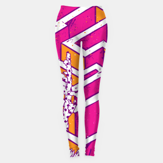 Thumbnail image of In a labyrinth Leggings, Live Heroes