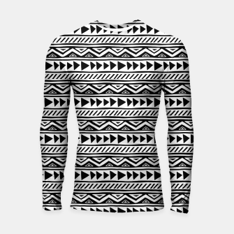 Thumbnail image of African Native Tribe - Pattern 13 - small Longsleeve rashguard , Live Heroes