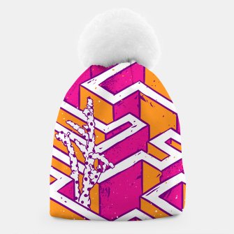 Thumbnail image of In a labyrinth Beanie, Live Heroes
