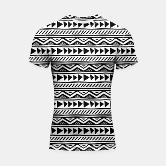 Miniatur African Native Tribe - Pattern 13 - small Shortsleeve rashguard, Live Heroes