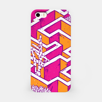 Thumbnail image of In a labyrinth iPhone Case, Live Heroes