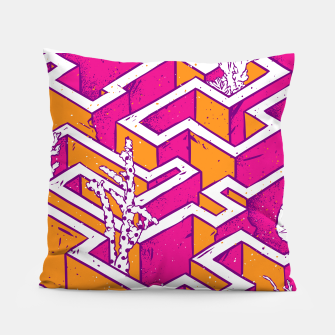 Thumbnail image of In a labyrinth Pillow, Live Heroes