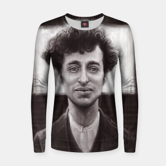 Thumbnail image of Charles Spencer Chaplin Women sweater, Live Heroes