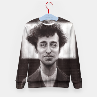 Thumbnail image of Charles Spencer Chaplin Kid's sweater, Live Heroes