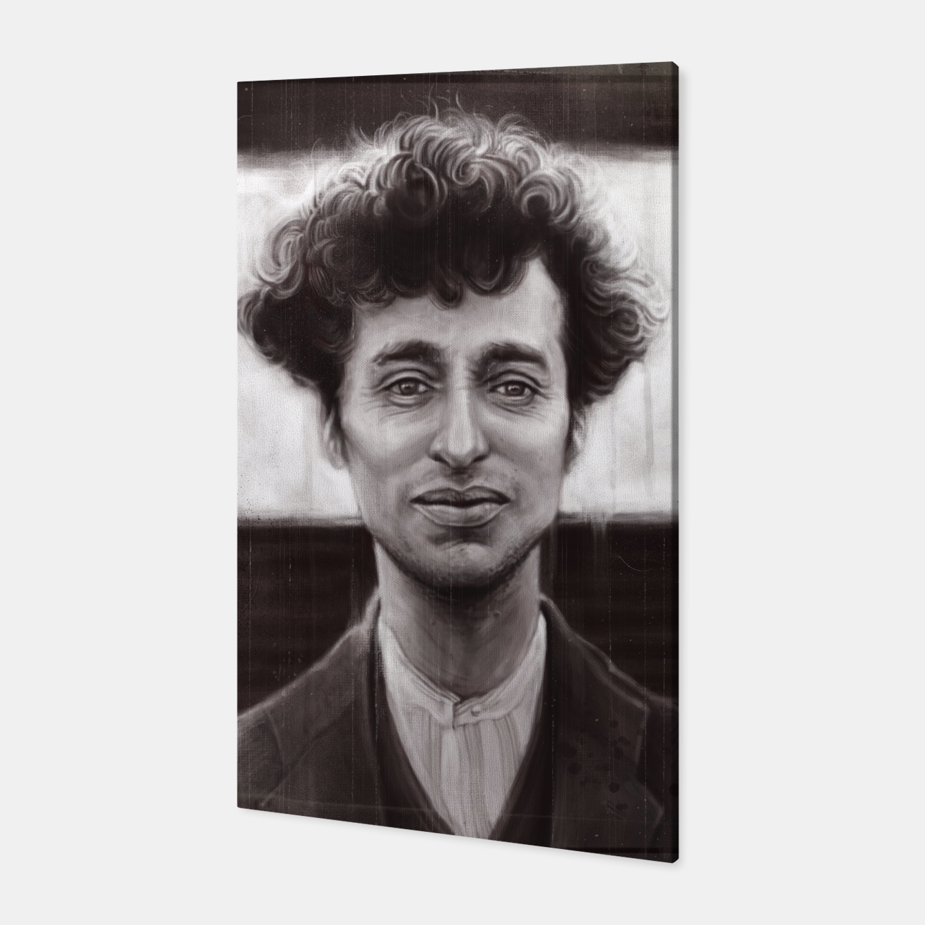 Image of Charles Spencer Chaplin Canvas - Live Heroes