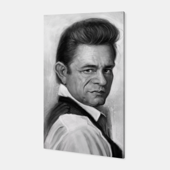 Thumbnail image of Johnny Cash Canvas, Live Heroes