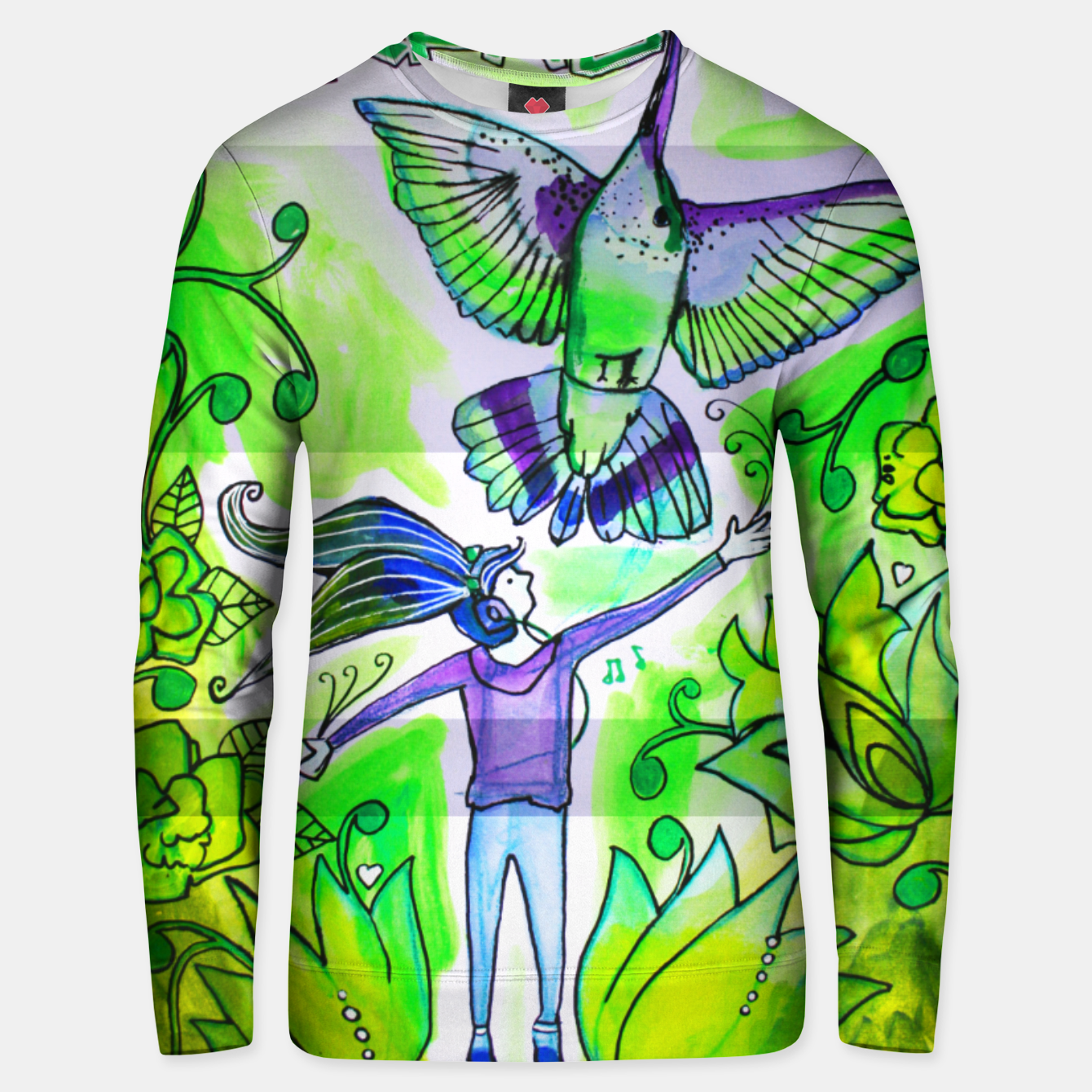 Image of 'Reach' Sweater - Live Heroes