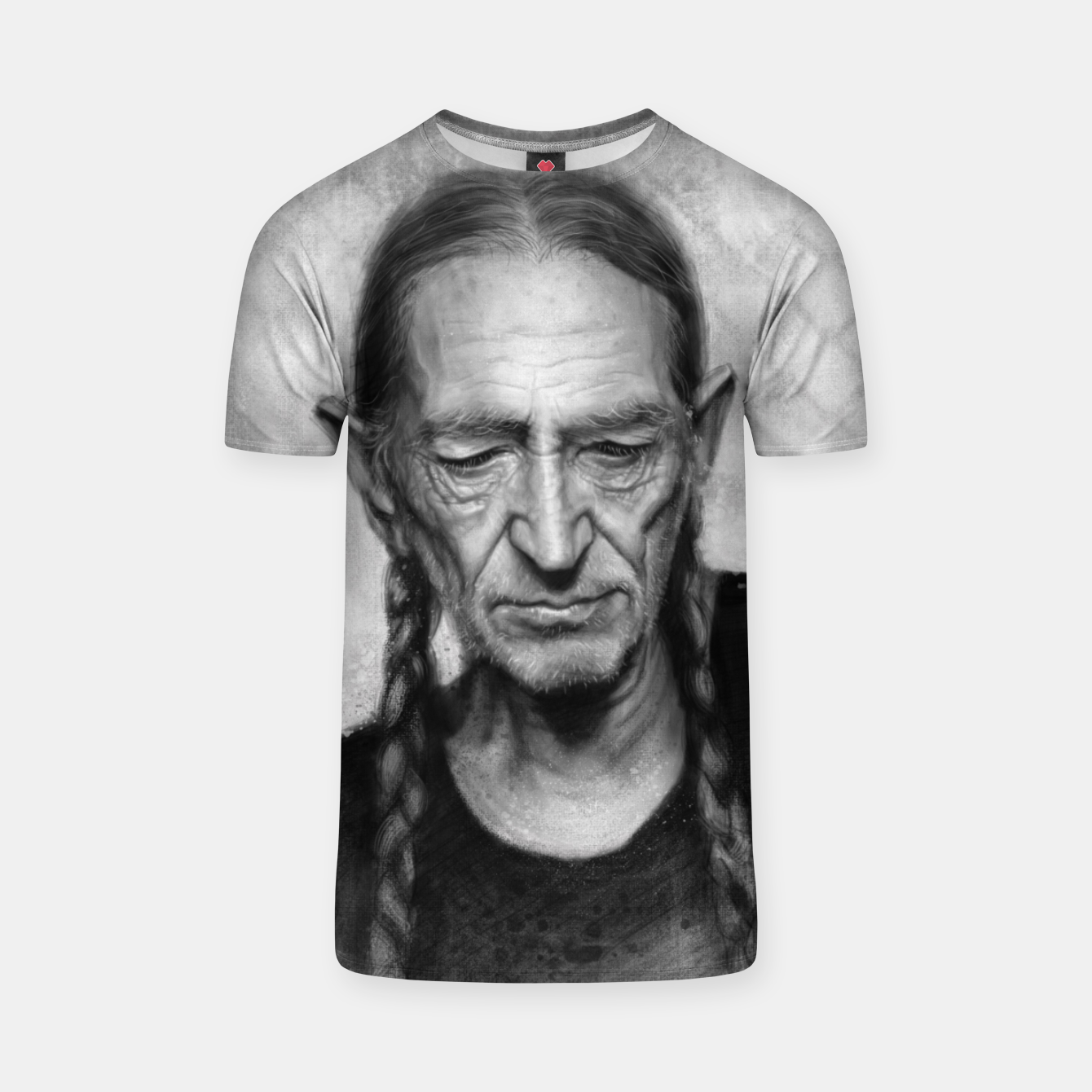 Image of Willie Nelson T-shirt - Live Heroes