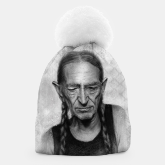 Thumbnail image of Willie Nelson Beanie, Live Heroes