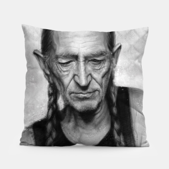 Willie Nelson Pillow thumbnail image