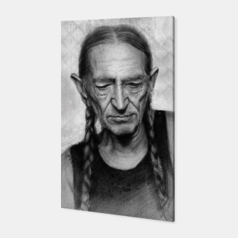 Thumbnail image of Willie Nelson Canvas, Live Heroes