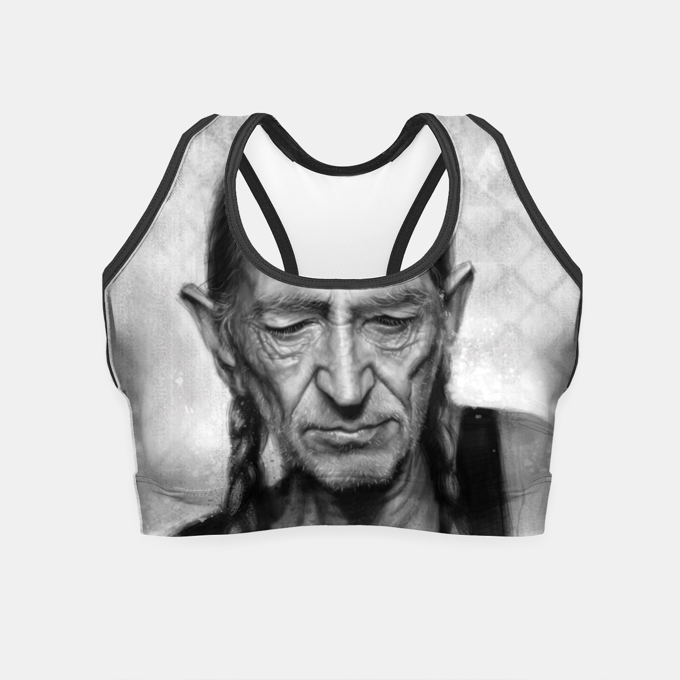 Image of Willie Nelson Crop Top - Live Heroes