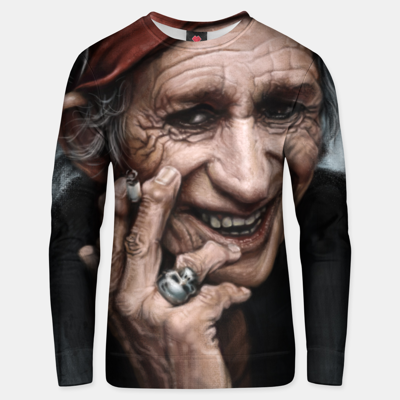 Image of Keith Richards Unisex sweater - Live Heroes