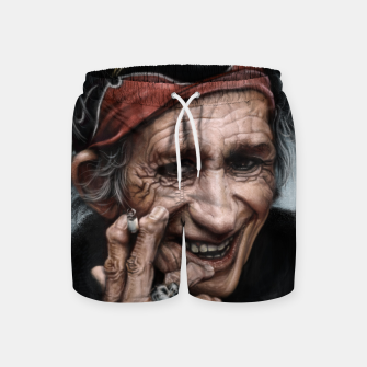 Thumbnail image of Keith Richards Swim Shorts, Live Heroes