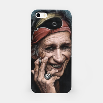 Thumbnail image of Keith Richards iPhone Case, Live Heroes