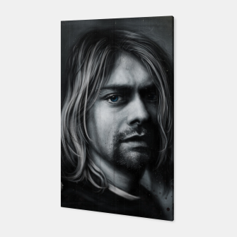 Thumbnail image of Kurt Cobain Canvas, Live Heroes