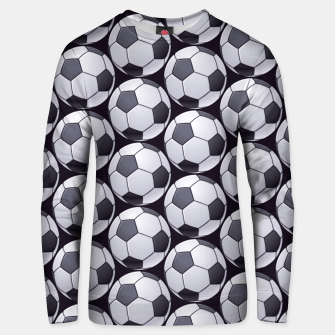 Thumbnail image of Soccer Ball Pattern Unisex sweater, Live Heroes